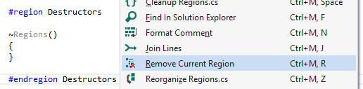Remove Current Region