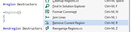 Remove Current Region